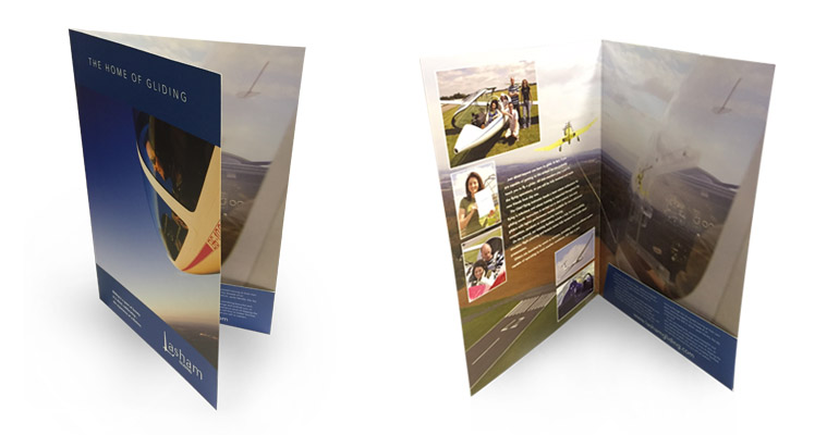 Double-sided Presentation Folders